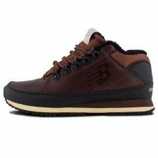 Зимние New Balance 754 Dark Brown With Fur