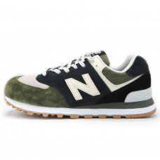 Мужские New Balance 574 Green/White/Black