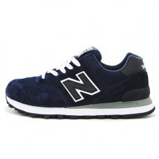 Унисекс New Balance 574 Dark Blue/Black/White