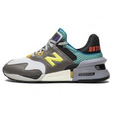 Мужские New Balance 997 S Grey/Turquoise/Black/Yellow