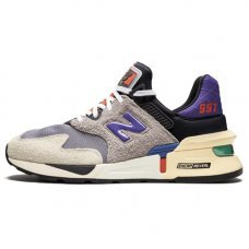 Мужские New Balance 997 S Grey/Black/Purple