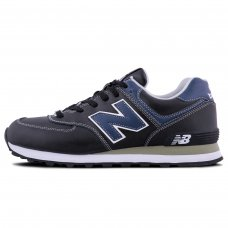 Унисекс New Balance 574 Black/Blue