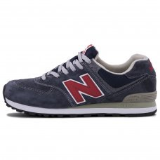 Мужские New Balance 574 Dark Blue/Red