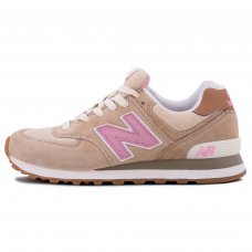 Женские New Balance 574 Grey/Light/Pink