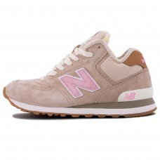 Фотография 1 Зимние New Balance 574 High Beige With Fur