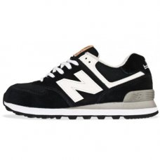 Унисекс New Balance 574 Black/White